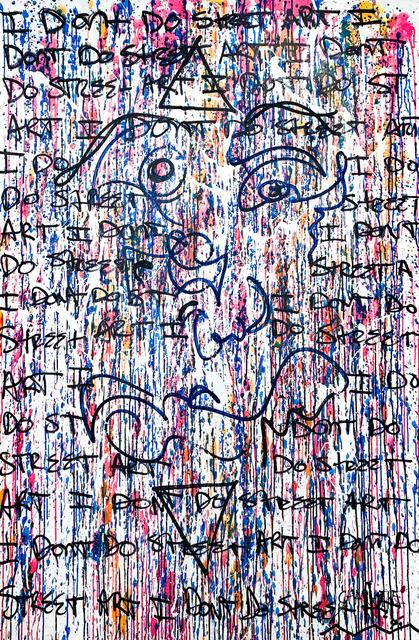 Charlotte Filbert, 'I Don't Do Street Art', Miller Gallery Charleston