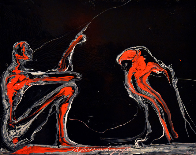 José Bedia, 'Aprendizaje', 2019, Galería Artizar