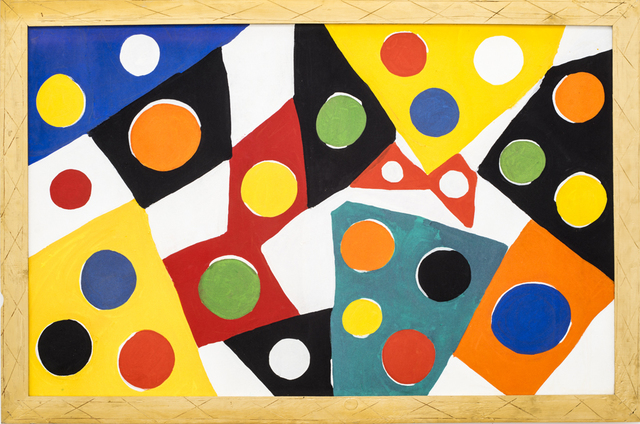Kim MacConnel, 'Kaponyugo', 1991, Painting, Cotton flocking and acrylic on canvas, painted carved wood frame, Rosamund Felsen Gallery