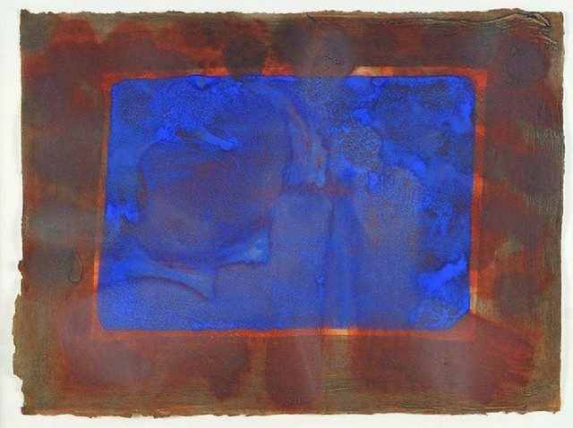 , 'Blue Listening Ear,' 1986, michael lisi / contemporary art
