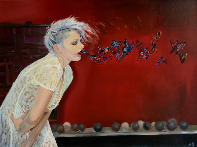 , 'Butterflies in my stomach,' 2013-2014, Art2Muse Gallery