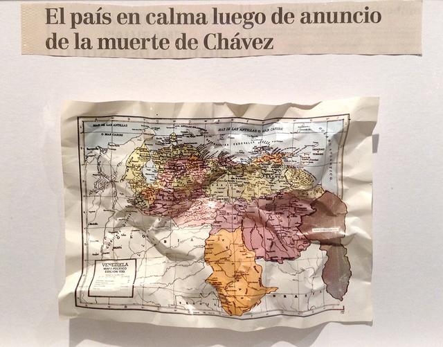 , 'El país en calma luego de anuncio de la muerte de Chávez,' 2015, Carmen Araujo Arte