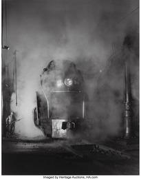 Washing J Class 605 at Schaffer's Crossing, Virginia