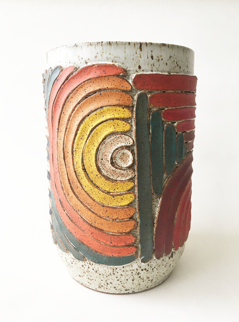 , 'Textured Vessel (6),' 2019, Eutectic Gallery