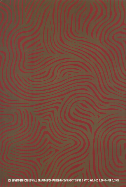 Sol LeWitt, 'Structure/Wall', 2000, Posters, Offset Lithograph, ArtWise