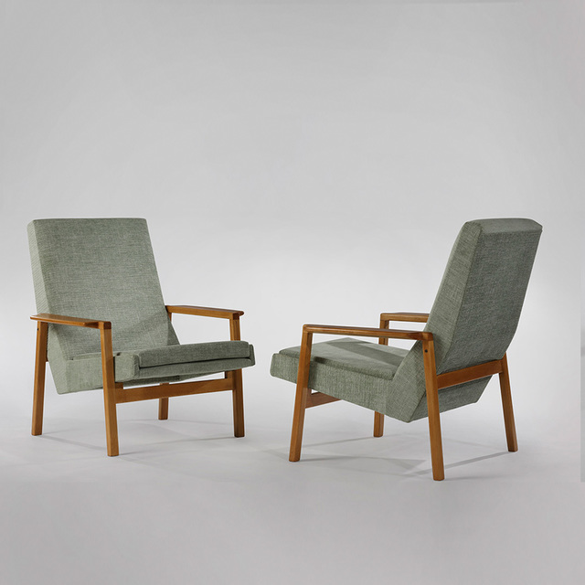 , 'Pair of 641 Armchairs,' 1955, Demisch Danant