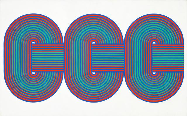 , 'Vibrations sur 2 Plans,' 1970, Galerie Xippas