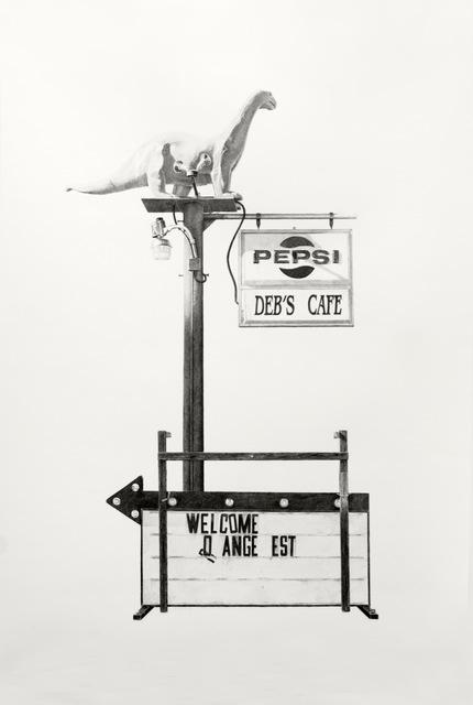 , 'Deb's Cafe,' 2017, M.A. Doran Gallery