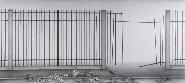 , 'Fence 1,' 2013, Chambers Fine Art