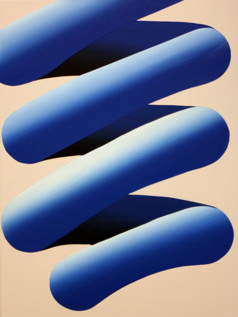 Cam Edward, 'Little Blue', 2018, Painting, Acrylic on Canvas, Black Door Gallery