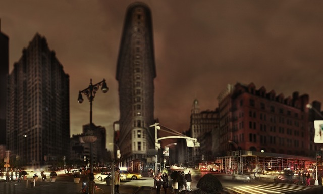 , 'Flatiron, Halloween after Hurricane Sandy, New York,' 2012, Aperture Foundation