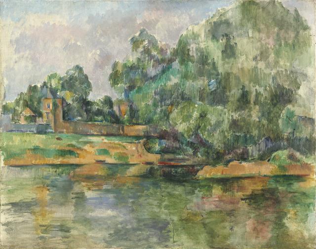 Paul Cézanne, 'Riverbank', ca. 1895, National Gallery of Art, Washington, D.C.