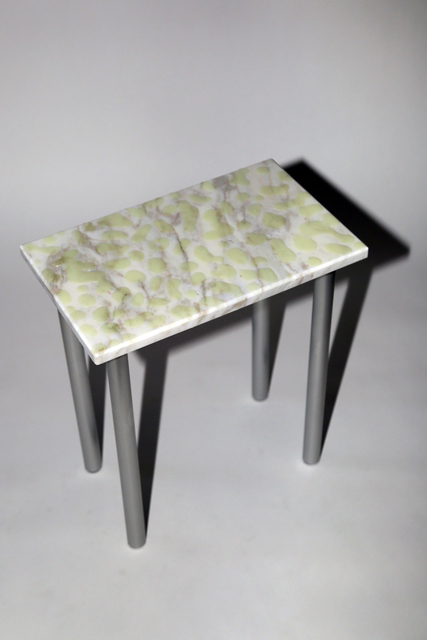 Soft Baroque, 'Wet Look Marble Side Table', 2019, Etage Projects