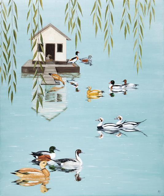 , 'A Paddling of Ducks,' 2018, Jonathan Cooper