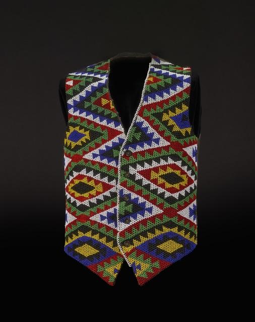 , 'Beaded waistcoat,' before 1987, British Museum