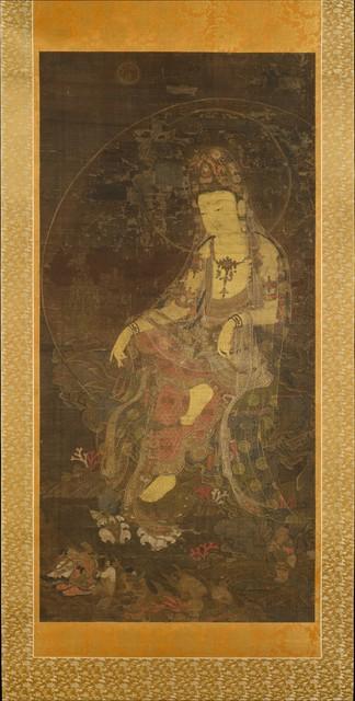 Unknown Korean, 'Water-moon Avalokiteshvara (수월관음도 고려|水月觀音圖 高麗)', first half of the 14th century, The Metropolitan Museum of Art