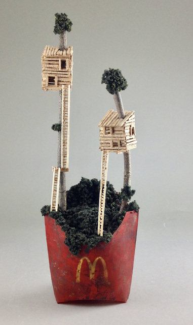 , 'High Rise,' 2015, Bruce Lurie Gallery