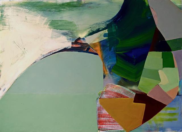 , 'Green Construct,' 2016, David Richard Gallery