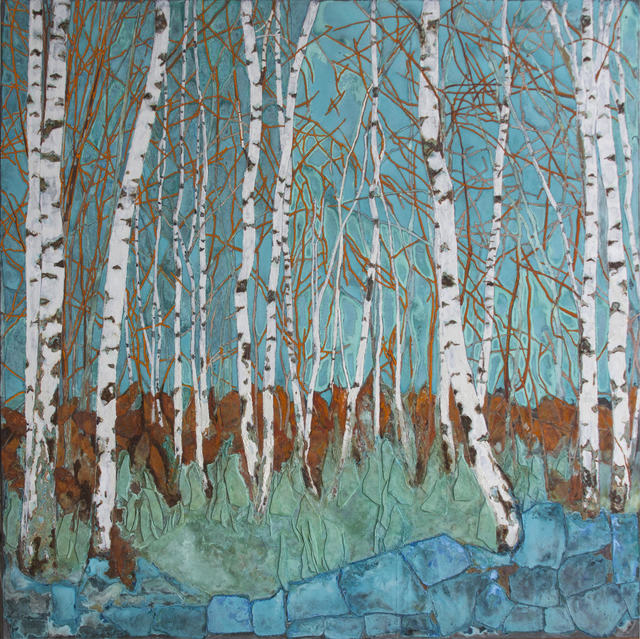 Piet van den Boog, 'Birch Forest', 2018, Zemack Contemporary Art