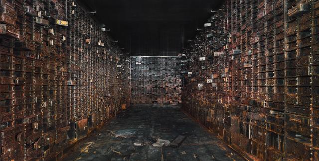 , 'Vault Interior I - Chicago - USA,' 2015, UNIX Gallery