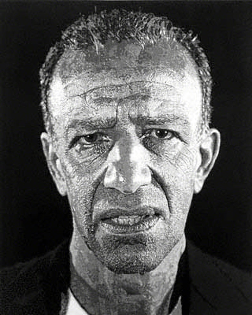 Chuck Close Portrait Photography