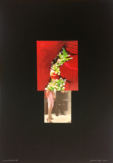 , 'lampenfieber,' 2014, Christine König Galerie