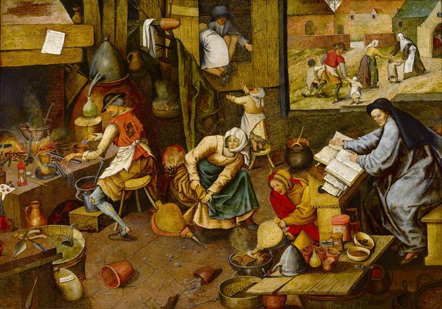 , 'THE ALCHEMIST,' 1600, M.S. Rau Antiques