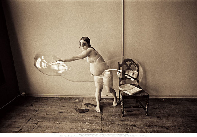 , 'Masked Pregnant Woman with Giant Soap Bubble,' ca. 1968, Paci contemporary