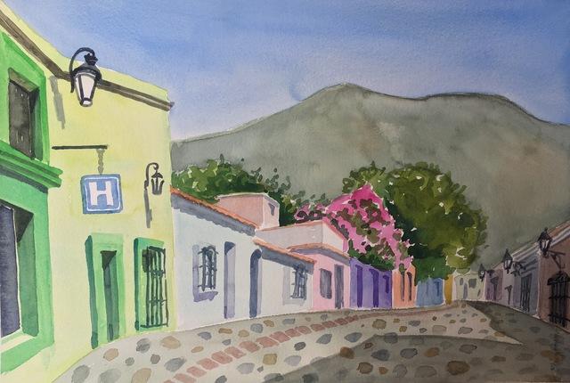 , 'Oaxacan Buildings,' 2019, 440 Gallery
