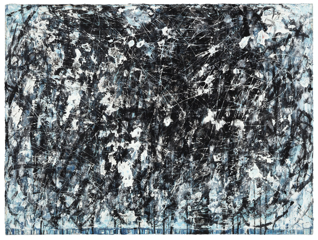 , 'Study for Black and Blue No. 3,' 2017, Winston Wächter Fine Art