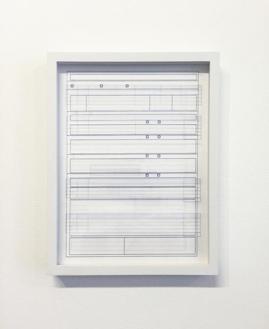 , 'Blueprint #13,' 2016, Spencer Brownstone Gallery