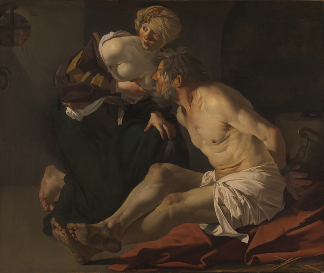 , 'Cimon and Pero (Roman Charity),' 1622-1623, The National Gallery, London