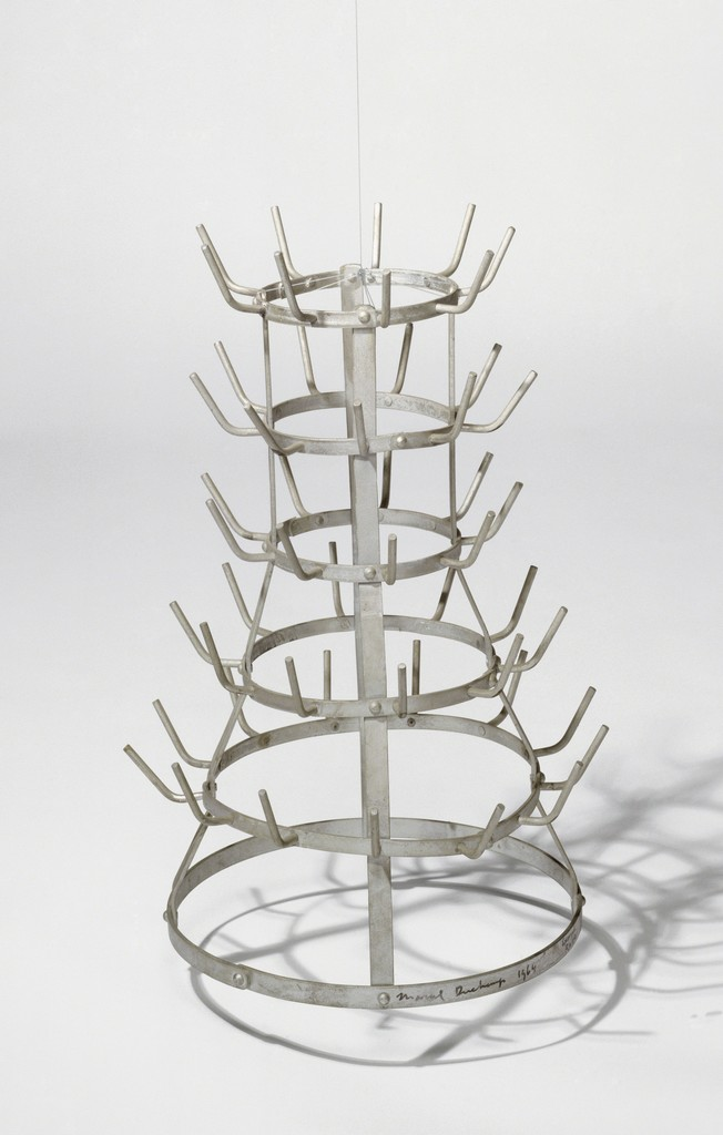 Marcel Duchamp Bottle Rack The Original Lost Was Carried Out