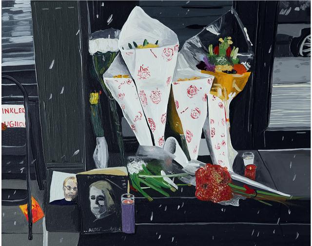 , 'Philip Seymour Hoffman's Doorsteps,' 2014, Joshua Liner Gallery