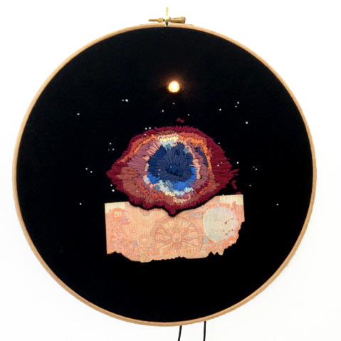 , '#50, Helix Nebula, l'œil de Dieu / Helix Nebula, the eye of God,' , Galerie Les filles du calvaire