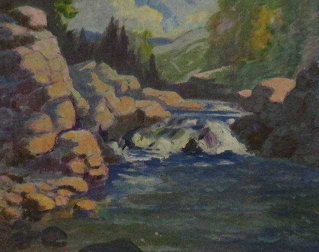 , 'Rapids, Ottawa River,' , Arctic Experience McNaught Gallery