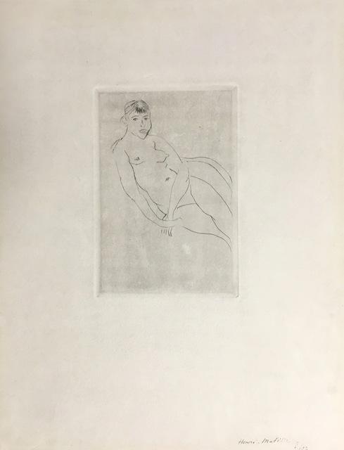 , 'Petit Nu assis,' ca. 1927, Galerie Céline Moine & LGFA
