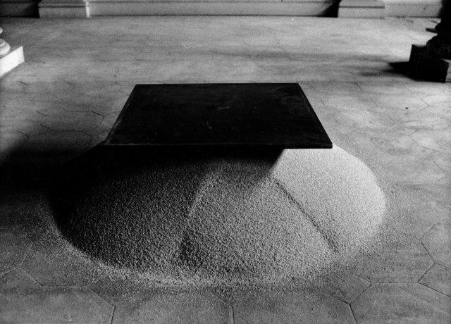 Roman Signer, 'Eisenplatte', 1982, Häusler Contemporary