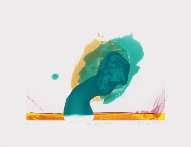 ", '""For John Altoon"",' 2011, Gemini G.E.L. at Joni Moisant Weyl"