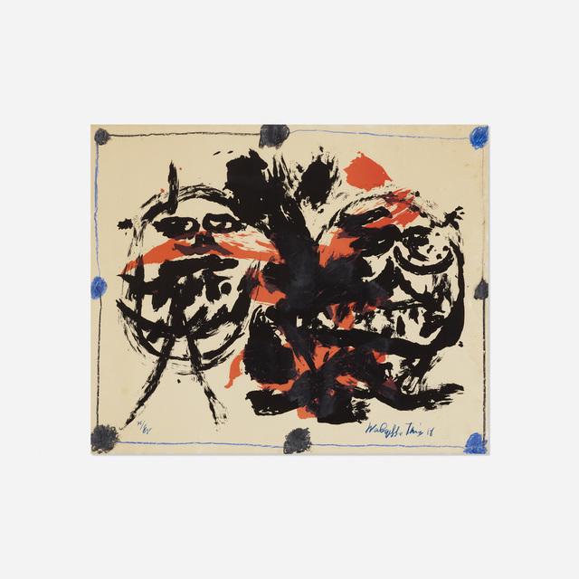 Walasse Ting 丁雄泉, 'Untitled', 1958, Wright