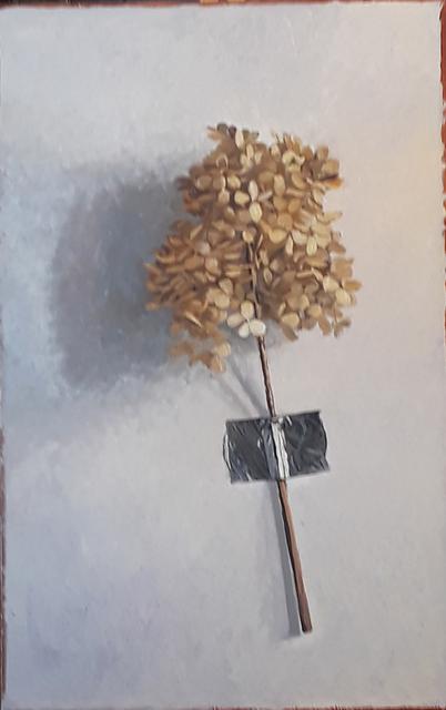 , 'Wall-mounted Hydrangea,' 2019, Eckert Fine Art