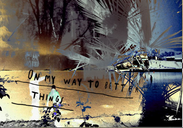 MICHEL TABANOU, 'ON MY WAY TO BETTER THINGS', 2017, Poulpik Gallery