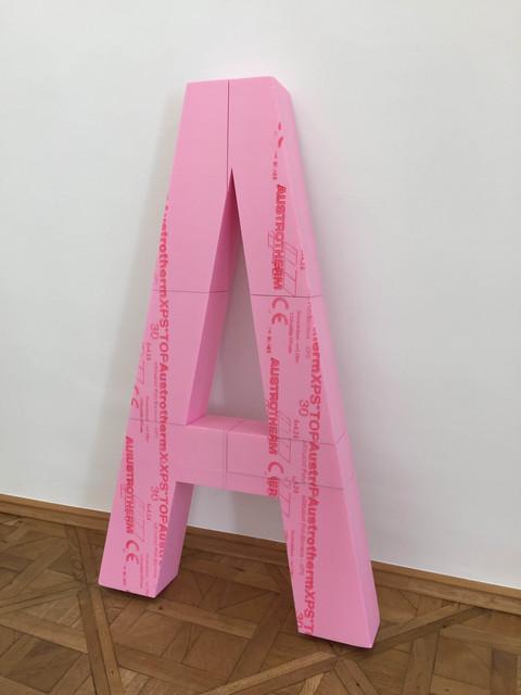 , 'A,' 2017, Galerie nächst St. Stephan Rosemarie Schwarzwälder