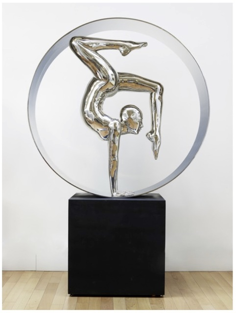 , 'CONTORTIONIST IN A CIRCLE (LARGE),' 2007, Opera Gallery