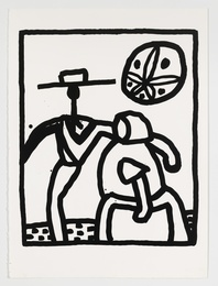 Keith Haring, 'Untitled Kutztown (Littmann 134),' 1989, Forum Auctions: Editions and Works on Paper (March 2017)