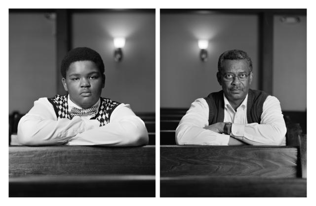 Dawoud Bey, 'The Birmingham Project: Trentin Williams and Willie Robinson', 2012, Rena Bransten Gallery