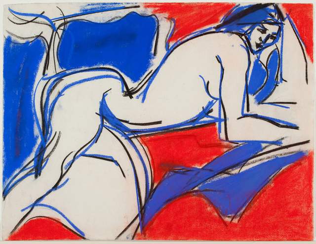 Fay Lansner, 'Red and Blue Figure', 1965, Quogue Gallery