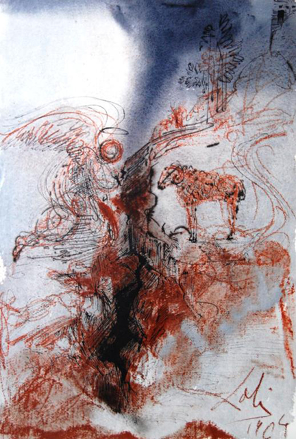 Salvador Dalí, 'The He-Goats Of The Wild She-Goats On The Face Of The Earth', 1967, Baterbys