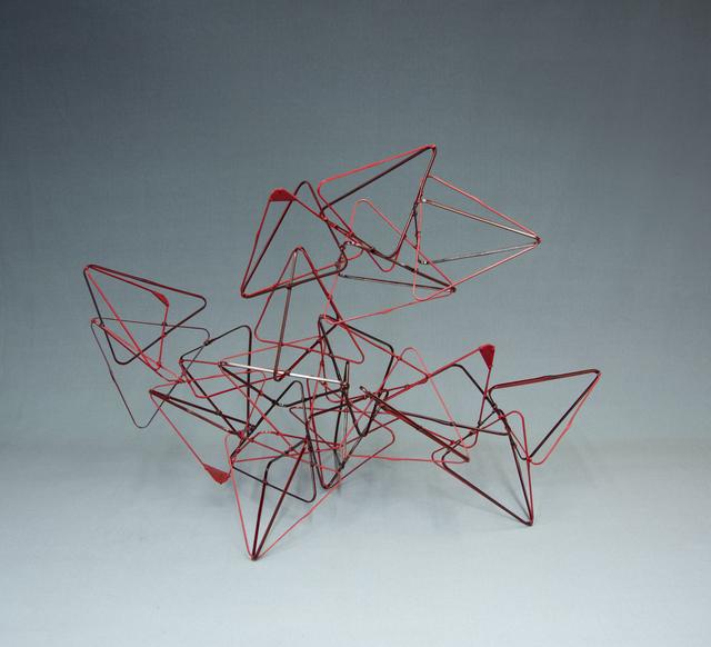 , 'Prism Triangle: Dot, Line, Plane,' 2019, TAI Modern