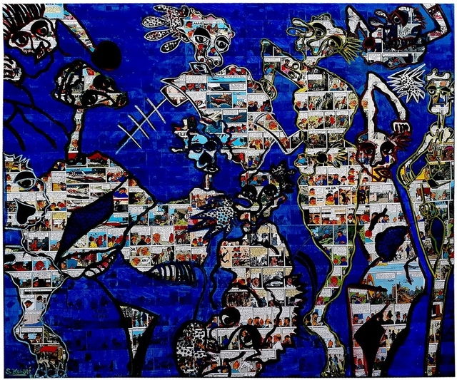 , 'VIVRE ENSEMBLE,' 2018, LouiSimone Guirandou Gallery